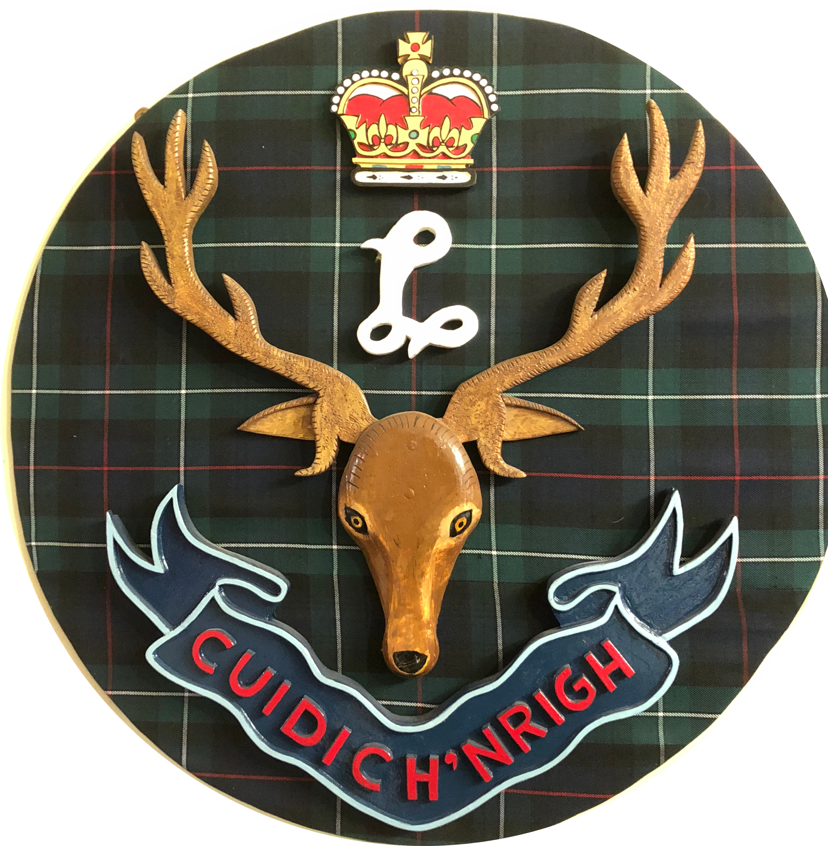 image of seaforth highlander's emblem